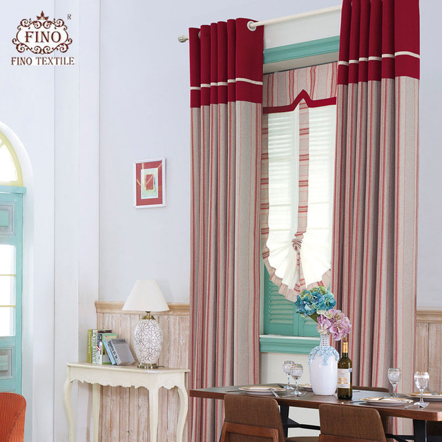 Luxury Scotland Curtains For Living Room Red Thick Bedroom Custom Made Home Decor Window