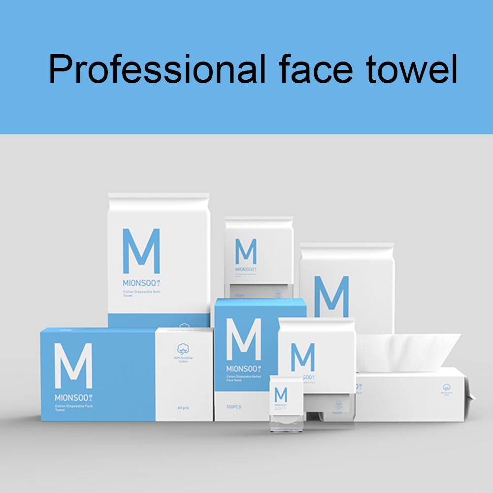 60Pcs Professional Double Side Face Towel Disposable Skin Friendly Cleaning Pad Fashion
