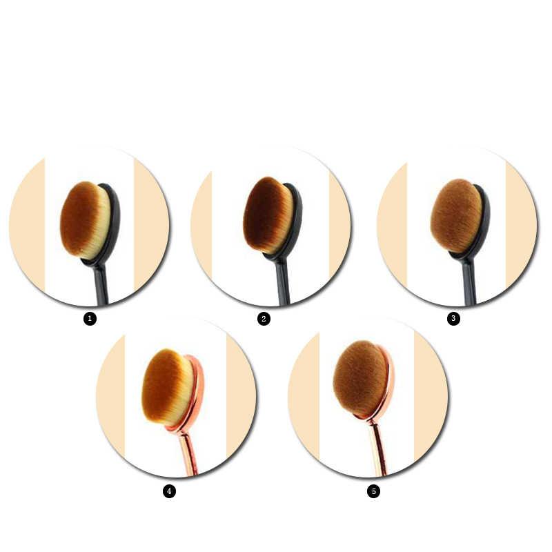 Pędzle do makijażu 1 szt. Kosmetyki w proszku szczoteczka do zębów fundacja kremowa szczotka pojedyncza syntetyczna szczotka do włosów