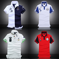 Embroidered Horse Logo Aeronautica Militare Men Polo Shirts  Air Force One short sleeve polos male top tee men brand clothing