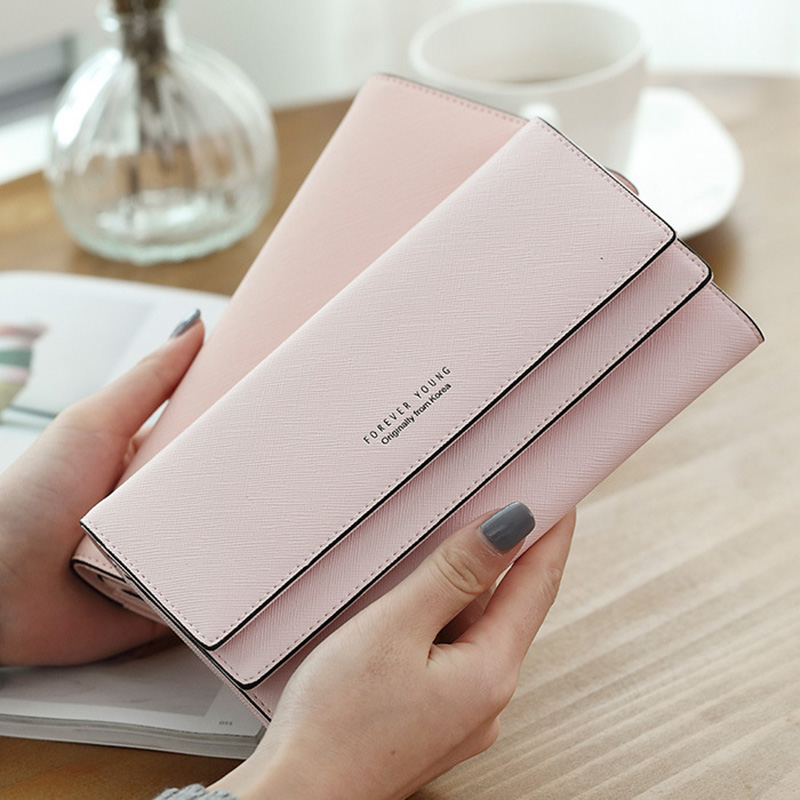 Women's Purse Women Wallet Women Coin Purse Coin Luxury Designer Female Wallet Long Wallet Female Clutch Card Holder Lady Purse 2018 retro women long wallet purse luxury designer coin purse card holders female handbag wallet for girl portefeuille femme