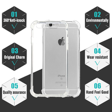 Shockproof For iPhone 6s Case Cover Plus Best Full Phone Protective Silicone Clear Accessories for apple iphone 6 S 5s SE Cases