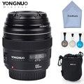 Yongnuo YN100mm Объектив F2 Среднего Телефото Премьер-AF MF для Canon EOS Rebel Камера 5D 5D IV 1300D T6 760D 750D 1D 5DS R