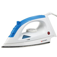 Electric Steam Iron With Adjusted Temperature Stainless Steel Baseplate Steamer Portable For Clothes Household Appliance