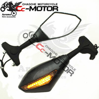 motorbike rearview for DUCATI 1098 848 1198 796 795 999 749 moto rearview mirror with turn signal light LED motorcycle mirrors