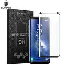 SUPCASE For Samsung Galaxy S8 Plus Anti-Scratch Premium 3D Curved Edge Anti-Impact Tempered Glass Screen Protector,1PC in a Pack(China)
