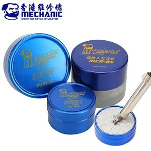 Image 1 - MECHANIC Soldering Tip Refresher Clean Paste for Oxide Solder Iron Tip Head Resurrection Cream Soldering Accessory