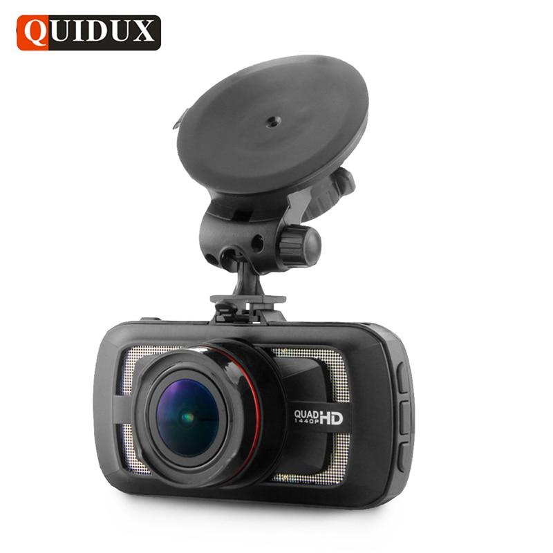 QUIDUX 3 Inch Car DVR Full HD 1080P Video Camcorder with GPS Logger Ambarella A12 HDR 1440P Dashcam Night Vision Parking monitor quidux mini car dvr full hd 1296p ambarella a7 dash camera adas wdr night vision registrator video recorder dashcam gps logger