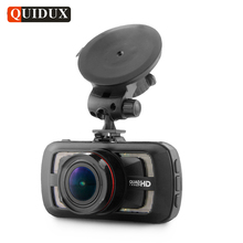 QUIDUX 3 Inch Car DVR Full HD 1080P Video Camcorder with GPS Logger Ambarella A12 HDR 1440P Dashcam Night Vision Parking monitor