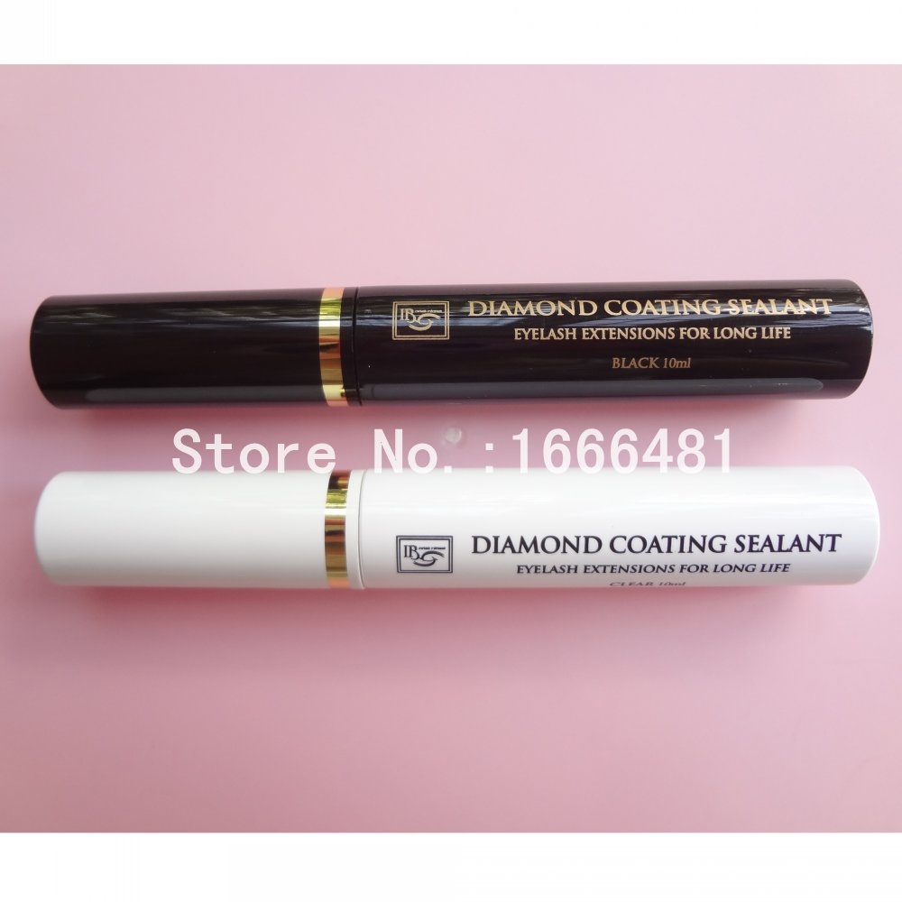 I Beauty Diamond Clear or Black Coating Sealant to Keep Eyelash Extension for Long Life Coating Mascara After Care Free Shipping 1