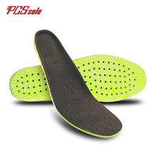 Original PCSsole boost warm insoles breathable light weight shock absorption shoes pad for man popcorn special eva  C1006