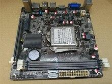 H61 ITX материнская плата используется оригинальный для MAXSUN MS-H61IL LGA 1155 DDR3 HDMI VGA