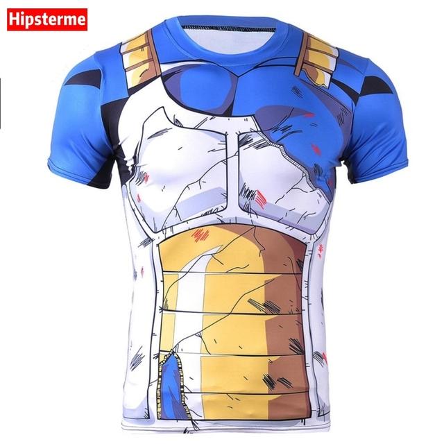 Dragon  Ball Z Shirt 3D Vegeta Goku After the battle version