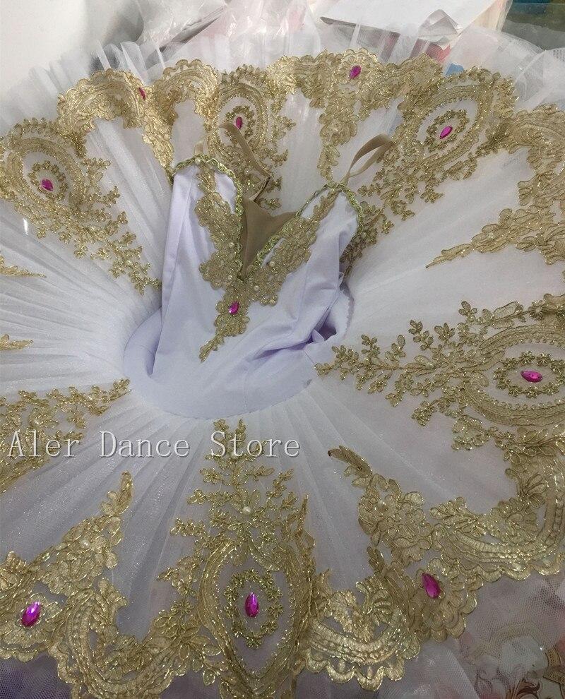 Giselle Professional Tutu Sequins Adult Swan Lake Ballet Dance Costume For Girls Women Pancake Tutu Kid Skating Ballerina Dress