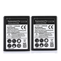 2Pcs High Capacity 3.7V 2800mAh Mobile Phone Replacement Battery For Samsung Galaxy Note N7000 i9220 GT-N7000 Battery