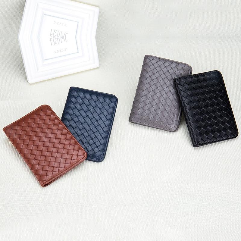 Protège-passeport de voyage en cuir véritable housse de passeport affaires porte-carte de crédit portefeuille russe porte-documents - 3