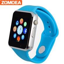 Relógio Bluetooth Relógio Inteligente Relógio de pulso Relogio Smartwatch Android Phone Call SIM TF Câmera Esporte Relógio com Tela Sensível Ao Toque