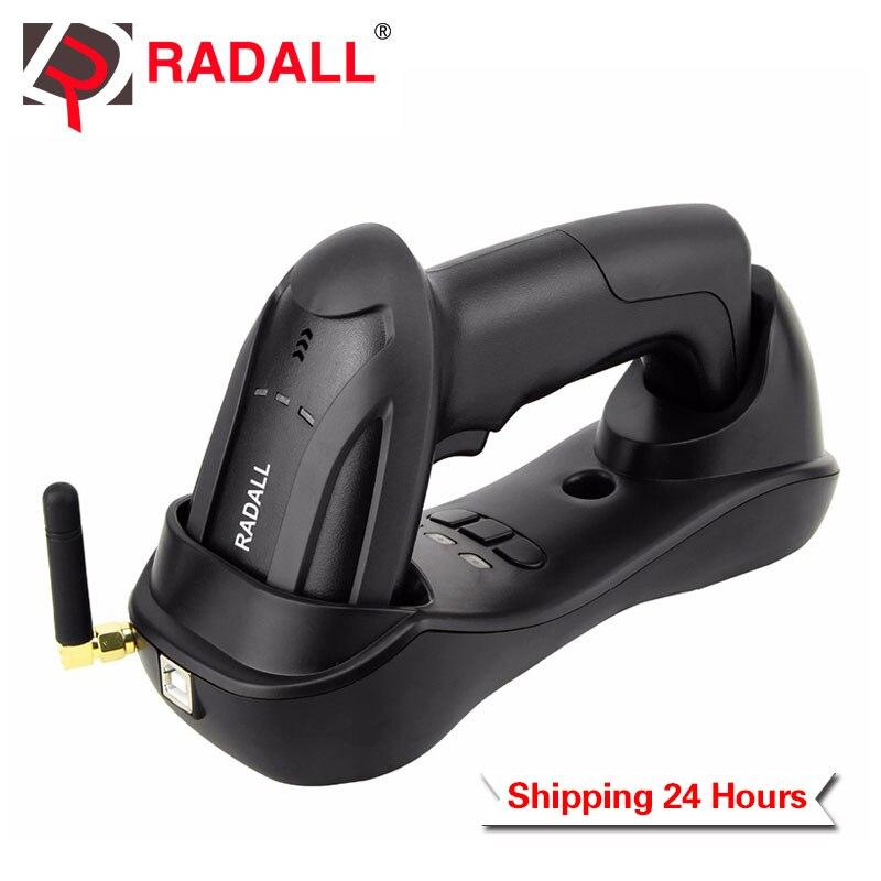 Handheld Sem Fio CCD Barcode Scanner Leitor Sem Fio Fácil de Carga & 58mm Bluetooth Mini Impressora de Etiquetas Térmica para POS Inventário