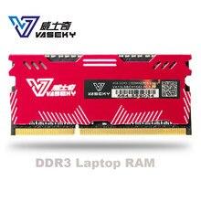 Vaseky 4gb 8gb 4g 8g laptop, módulo de memória ram notebook computador pc3 ddr3 12800s 12800 1600 mhz 1600 mhz ram