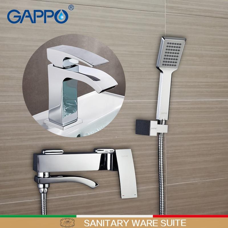 GAPPO Shower Faucets bathtub mixer bathroom shower Faucets tap basin faucet basin sink water mixers shower