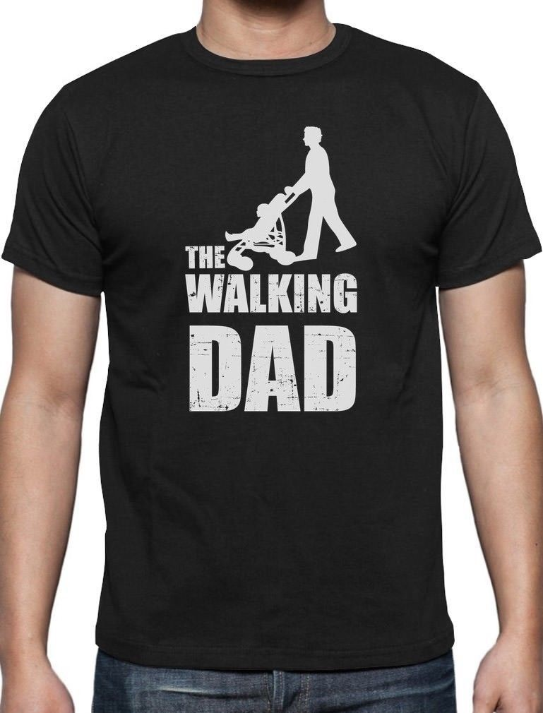 gildan Fathers Day Gift - The Walking Dad T-Shirt Cool And Funny