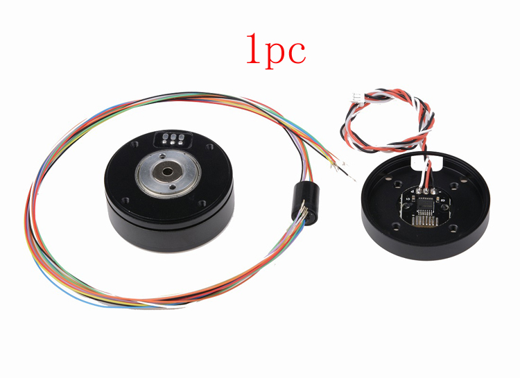 1PC HT3505 Brushless Gimbal Motor W AS5048A / AS5600 Encoder 360 Degree Rotation  PTZ S For DIY Gopro/SJ Camera Parts