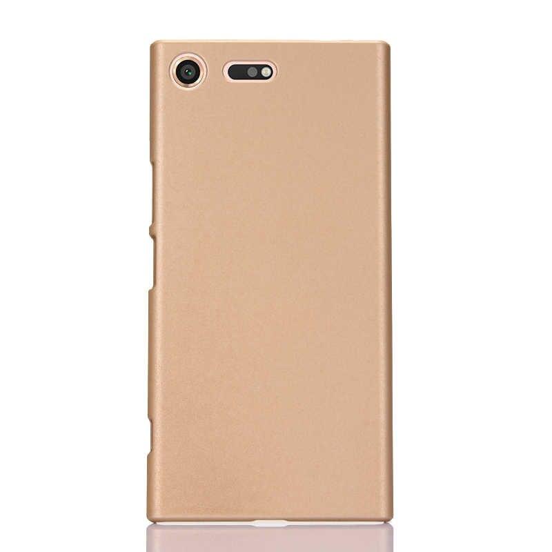 גומי מט מקרה קשה עבור Sony Xperia X XA XZS XZ1 קומפקטי עור לשפשף בתוספת L1 XA1 XZ פרימיום Ultra כיסוי אחורי מעטפת ההגנה