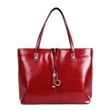 2016 Women Genuine Leather Handbag Casual Women Messenger Bags European And American Style Ladies Crossbody Shoulder Bag Tote