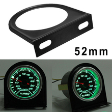 Универсальный автомобильный манометр 2 дюйма 52 мм Кронштейн Автомобильный измеритель манометр держатель приборной панели двойной автомобильный измеритель