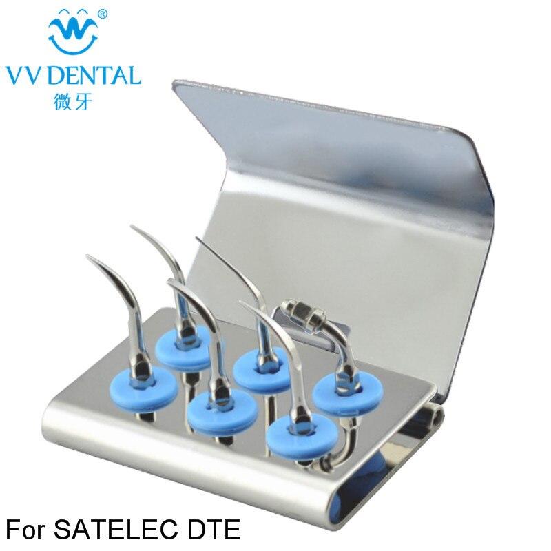 1 set SSKS caler Standard Kit Sliver for SATELEC GD1 Remove calculus and bacterial plasue dental surgery dentistry products