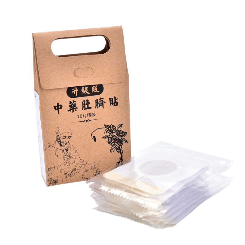 100 pcs ( 10 bag = 100pcs ) slimming navel sticker slim patch lose.