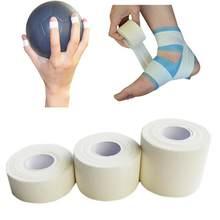 Fita de cinesiologia da proteção da tensão do músculo da lesão do esporte da fita atlética adesiva do rolo elástico respirável da atadura dos primeiros socorros # h10 *