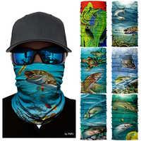 Bufanda de secado rápido 3D para ciclismo Bandana ciclismo bicicleta bufanda de pesca cuello caliente máscara de cara cabeza escudo diadema para hombre