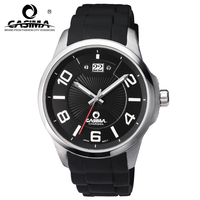 Watches Men Luxury Brand CASIMA Reloj Hombre Casual Silicon Strap Men Quartz Watch Montre Homme Waterproof