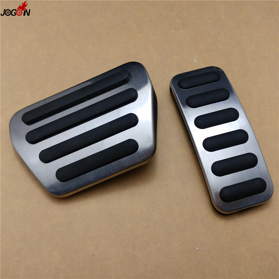 2pcs Gas Fuel Brake Foot Pedal AT For Land Rover Range Rover Sport 2014 2015 2016 image