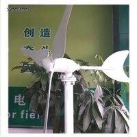 Ветрогенератор 100 Вт или 50 Вт, 12 В или 24 В 3 лезвия Малый ветроэнергетическая турбина генератор