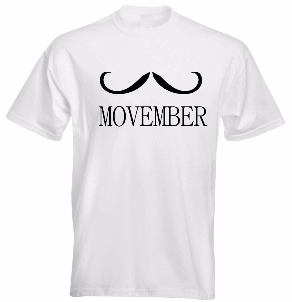 Movember Charity Awareness Growing A Mustache Party workout Mens T Shirt Gift More Size and Colors-A921 image