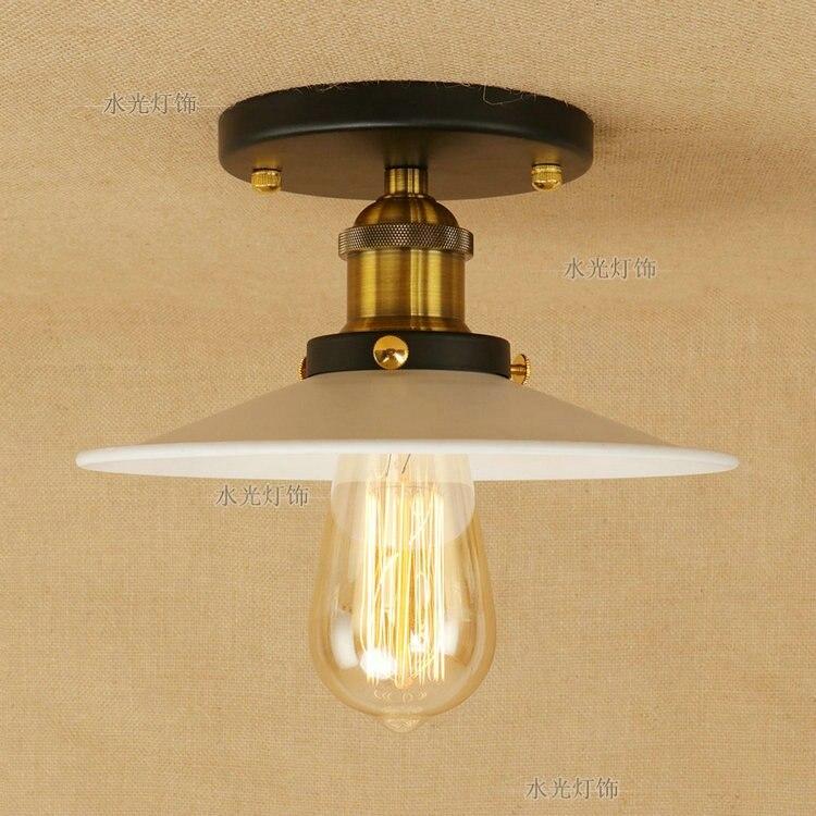 vintage iluminacao retro de ferro para quarto cozinha lampadas led 05