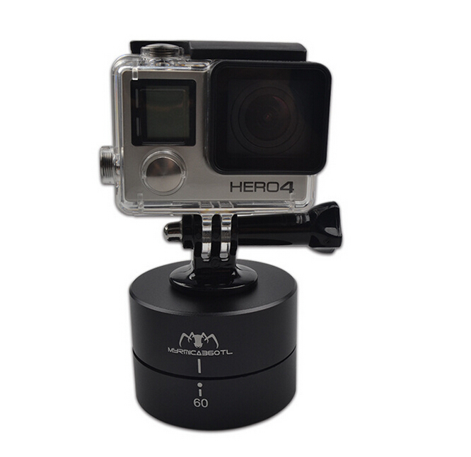 360Degrees Panning Rotating TimeLapse Stabilizer for Go`Pro Camera Mobile Phone