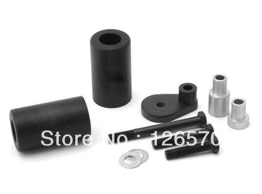 Black Frame Slider Fairing Protectors No Cut For Suzuki GSXR GSX-R 600 750 2000 20001 2002 2003