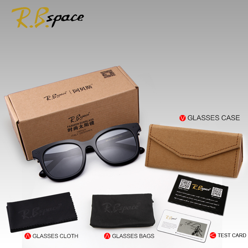 Rbspace унисекс ретро пластины поляризованных солнцезащитных очков бренд солнцезащитных очков Поляризованные линзы старинные очки Аксессуар... - 6