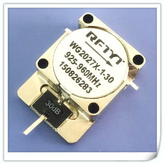 Used WG2027X-1-30 925-960MHz GSM RF Power Isolator 30dB Attenuation Chip RFTYT