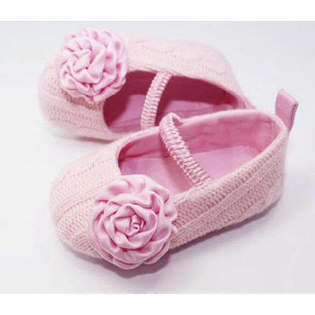 Crochet Baby Girl Shoes Booties For Newborns Botinhas De Menina Children Shoes For First Step Walkers Baby Items 703132