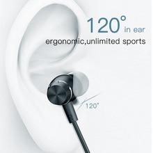 Baseus S09 Bluetooth Earphone Wireless headphone Magnet Earbuds With Microphone