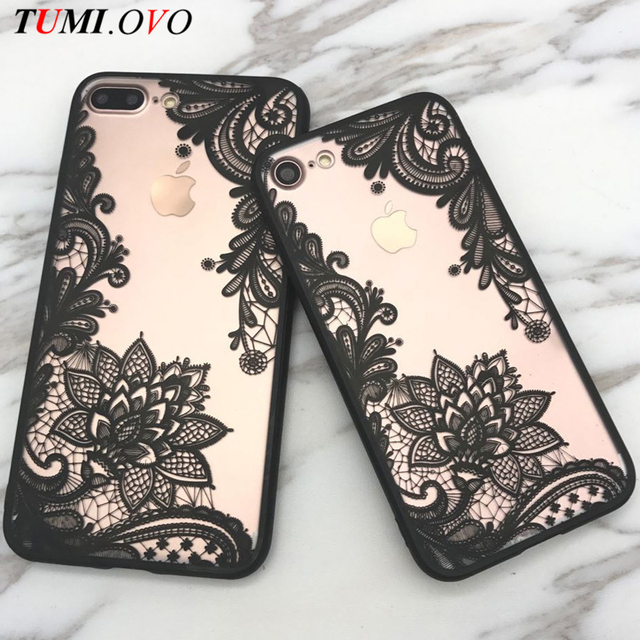 100% authentic 6eeb9 f6bd0 US $1.39 20% OFF|TUMI.OVO Hot Lace Datura Paisley Mandala Henna Flower Case  For iphone 7 Case For iphone 6 6S Plus 5 5S Cover Classic Phone Cases-in ...