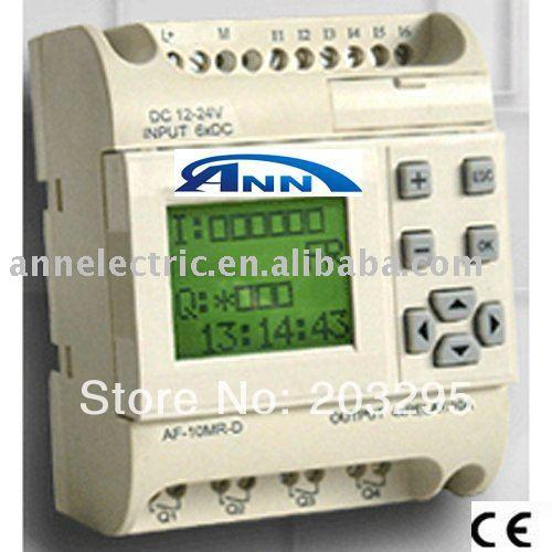 plc control system,programmable logic controller   AF-10MR-D +AF- LCD + AF-C232 cable,free sotware,low cost plc programmable logic controller module and 3 5 inch hmi learning plan hmi plc