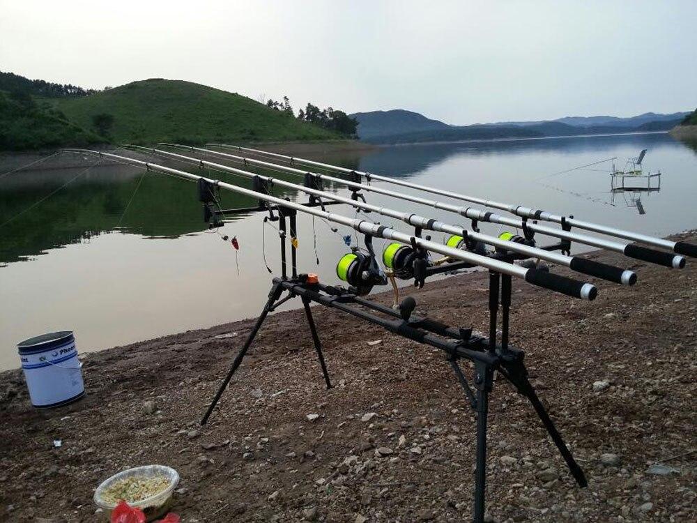 Lixada 4 Pcs LED Carp Fishing Swinger in Case 4 Colors Illuminated Swinger Set Fishing Tackle Boxes Fishing Accessories Pesca