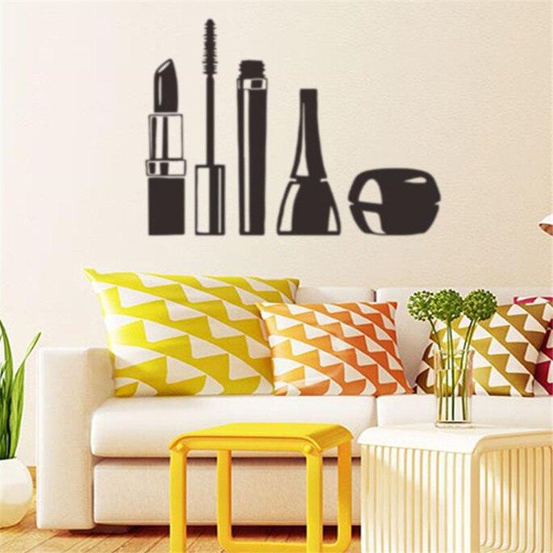 IDFIAF Cosmetics Makeup Girl Woman Room Decor Beauty Spa Vinyl Wall ...