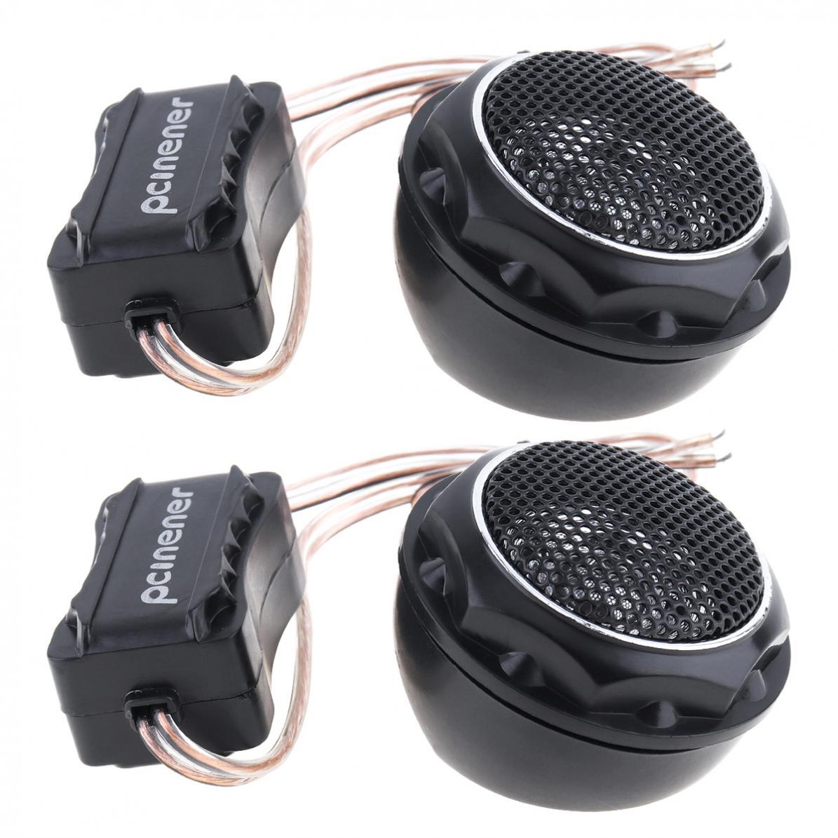 Mini dome alto-falantes para carro, 2 peças,