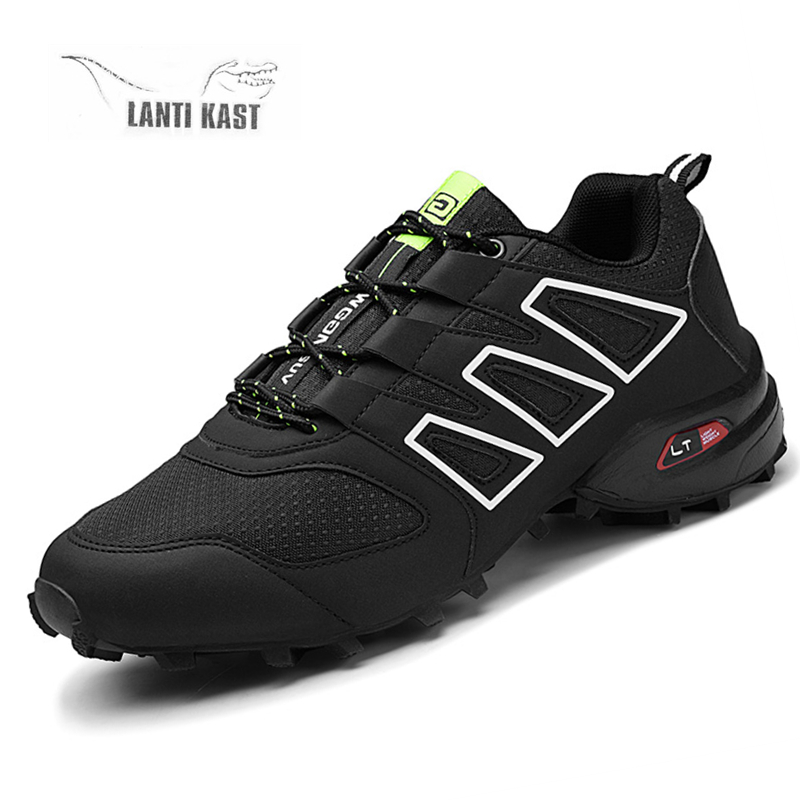 Outdoor Hiking Soft Breathable Shoes Men Sports Tactical Mountain Climbing Athletics Trekking